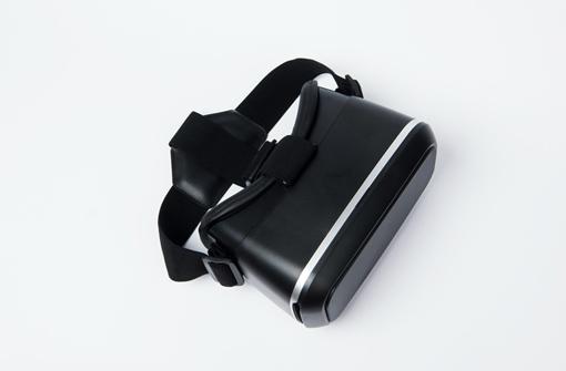 Casque de réalité virtuelle publicitaire