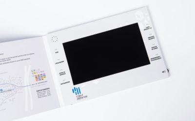 Nouveauté : la plaquette vidéo avec écran 10 pouces