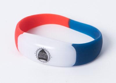 Bracelet LED supporter