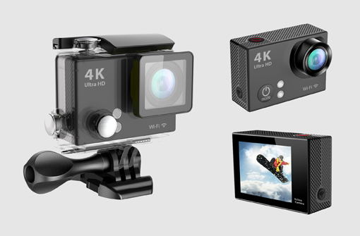 Caméra sport 4K à personnaliser avec votre logo