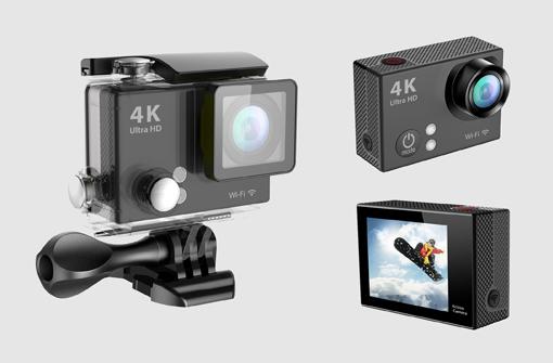 Caméra sport personnalisable, cadeau publicitaire haut de gamme