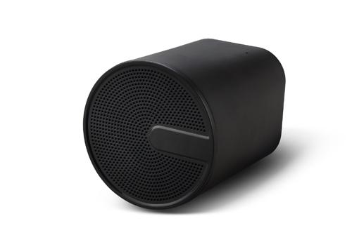 Enceinte sans fil personnalisable noire design simple