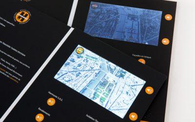 Nouveauté : la brochure video désormais disponible avec un écran IPS