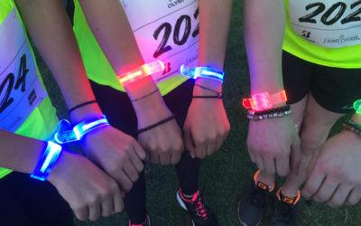 Le bracelet LED LedPulse cartonne sur des événements sportifs