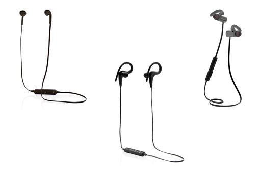 3 modèles d'écouteurs sans fil publicitaires
