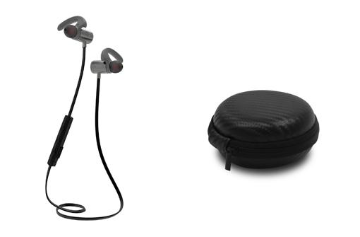 Écouteurs sans fil publicitaires premium avec boitier