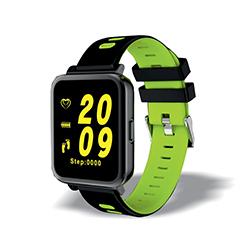 Smartwatch personnalisable premium noir et vert
