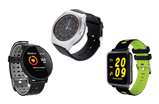 Gamme de smartwatch personnalisables By Touch