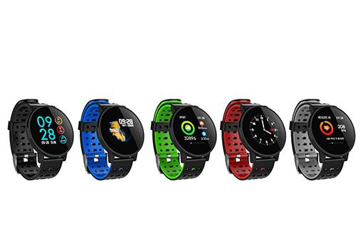 Smartwatch publicitaire sport dans 5 couleurs