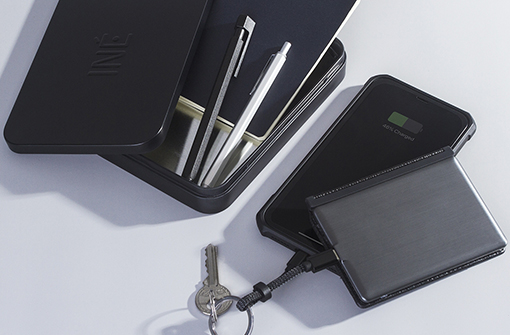 Boîte de rangement du porte-cartes power bank
